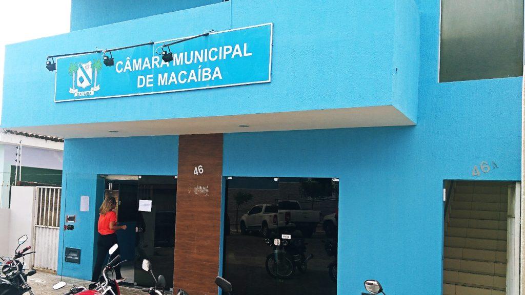 Resultado de imagem para câmara municipal de macaíba